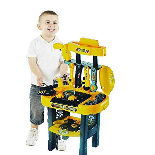FB FunkyBuy - Set di attrezzi per bambini, per la costruzione di banco da lavoro, per feste, accessori per la costruzione di giochi con vari strumenti