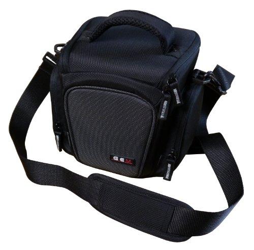 GEM gran carga superior de hombro funda para cámara Fujifilm FinePix S8600, y accesorios