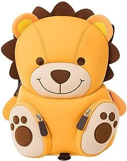 Mochila Linda del león Amarillo de los niños con Las riendas, niños Impermeables Mochila Preescolar Grande del Gran Regalo (león Amarillo)