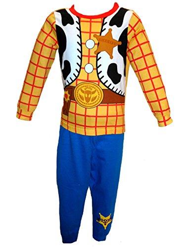 Toy Story Pyjama-Set für Jungen und Kinder, Buzz Lightyear Woody – Alter 18/24 Monate, 2–5 Jahre Gr. 98, Woody