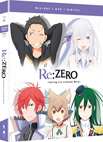 Re:ZERO: Starting Life in Another World - Season One Part Two Blu-ray + DVD + Digital