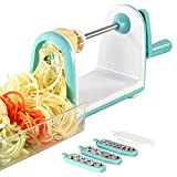 Best Spiralizers - Ourokhome Vegetable Spiralizer Zucchini Noodle - 5 Blades Review