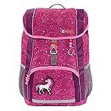 """Step by Step Rucksack-Set Kid """"Unicorn"""", rosa/lila, mit Sitzkissen, ergonomischer Mini-Ranzen mit abnehmbarem Brustgurt, für Kindergarten, Vorschule und Freizeit, 13 l"""