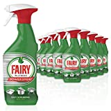 Fairy Platinum Power Spray, Touch Grease Remover, Fresh Citrus, 5 Litres (500 ml x 10)