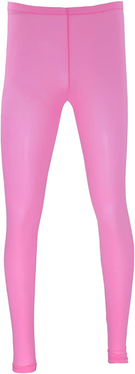 FEESHOW Men's Ice Silk Long John Sport Running Tights Thermal Underwear Pajamas Pants Leggings