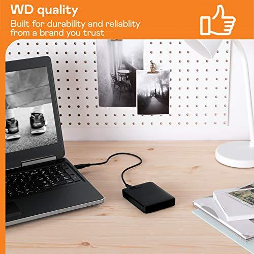WD Elements Portable, externe Festplatte – 1 TB – USB 3.0 – WDBUZG0010BBK-WESN - 7