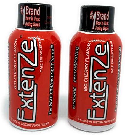 Extenze Male Enhancement Maximum Strength Big Cherry Flavor 2 ct product image