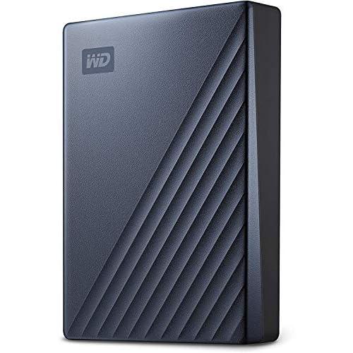 WD My Passport Ultra Hard Disk Portatile con Protezione Tramite Password e Software di Backup Automatico, Pronto per USB-C, Compatibile con PC, Xbox e PS9, 5TB, Blu