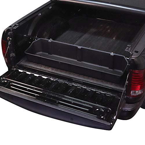 Red Hound Auto Truck Bed Storage Cargo Container Compatible with Dodge Ram 1500 2500 3500 2019-2021 Transport Organizer with Secure Attachment System for Groceries Tools Golf Clubs and More