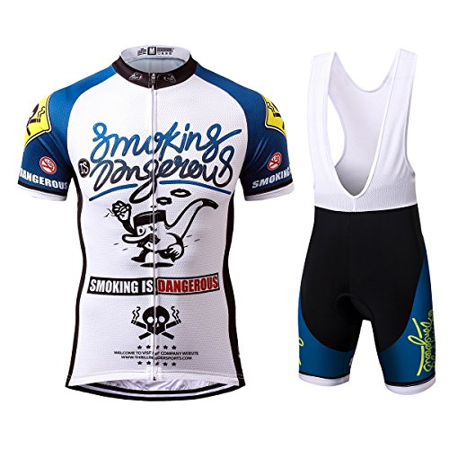 Thriller Rider Sports® Hombre Smoking is Dangerous Deportes y Aire Libre Maillot...