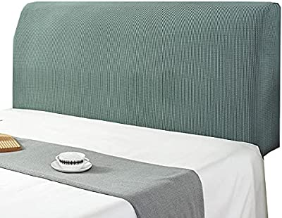 Bed Head Cover Headboard Cover Super King Double Single Bed Brown Black Headboard Slipcover Protector White Green Headboards Backrest Cover Stretch Headboard Protection Cover