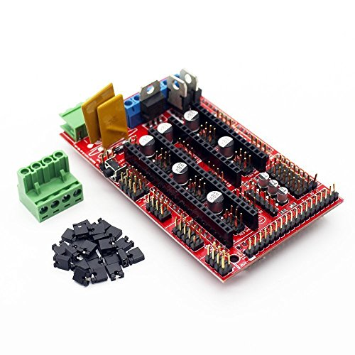 ICQUANZX 3D Printer Controller RAMPS 1.4 Mega Shield for Reprap Prusa Mendel