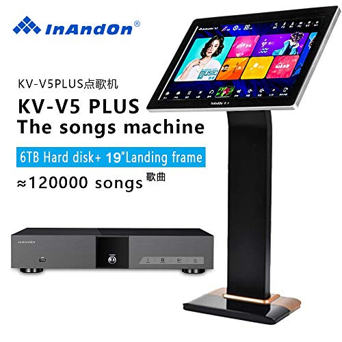InAndon KV-V5 PLUS Karaoke Player Intelligent voice keying machine online movie...