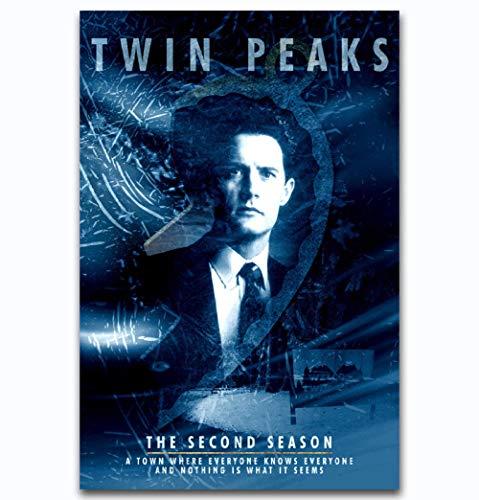 199Tdfc Pinte Por Number Kit, Diy Pintura Al Óleo - Twin Peaks 2 American Serie De Televisión Estadounidense Decoración Decoraciones Regalos De Navidad - Xxl 16 * 24 Pulgadas Sin Marco