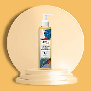 Mirah Belle - Sweet Orange, Mulberry - Skin Brightening Face Wash - For Dull, Pigmented, Blemished Skin - Makes Skin Fair ...