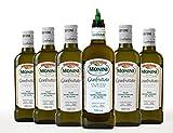 Monini Olio Extra Vergine Monini Granfruttato 100% Italiano N.6 Bottiglie Da 500Ml Con Beccuccio Dosatore - 3000 ml