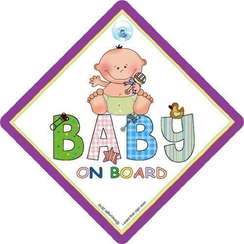 Baby on board Patch, unisexe, Baby on board \