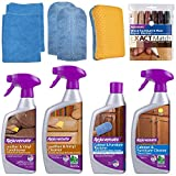 Rejuvenate Furniture Cabinet and Leather Restorer Kit Cleans Repairs...