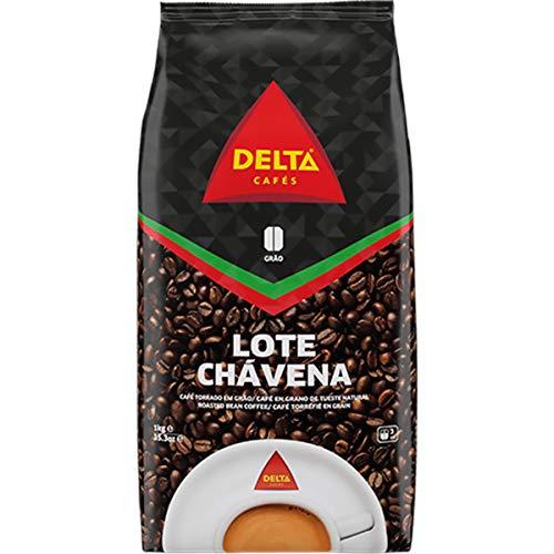 Röstkaffee mit glasierten Bohnen, ganze Bohne - Café Delta Chavena 90/10