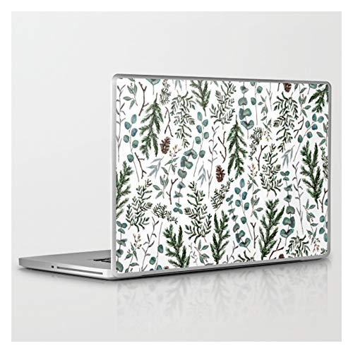 Laptop & Tablet Skin - 15' PC Laptop (13.4' x 9.2') - Pine and Eucalyptus Greenery by The Kindred P