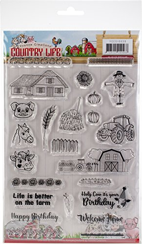 Clear Stamp Set - Country Life