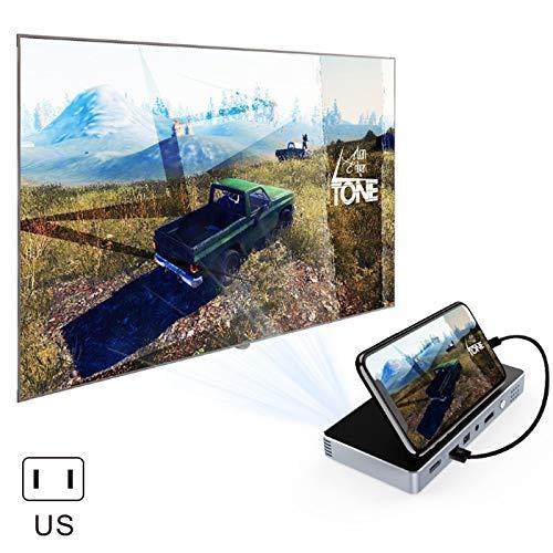 MongKok Mini draagbare projector huishouden Smart DLP HD telefoon beamer voor thuisbioscoop