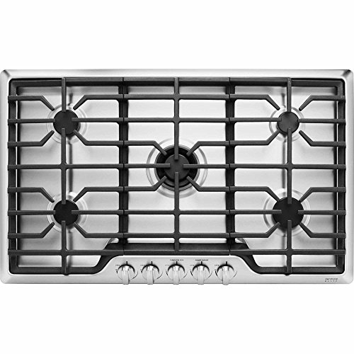 Kenmore Elite 32713 36' 5 Burner Gas Cooktop in Stainless Steel,...