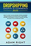 DROPSHIPPING SHOPIFY E-COMMERCE 2020: How To Start an Online Best