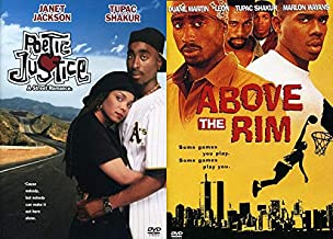 Tupac Shakur Classics From Street Ball and Road Trips: Above The Rim & Poetic Justice DVD Collection 2 Feature Films