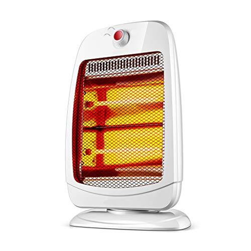 ZZ Heaster ventilatorkachel, donker licht, geluidsarm, veilig en duurzaam schudkop, energiebesparende kleine elektrische verwarming thuisgebruik