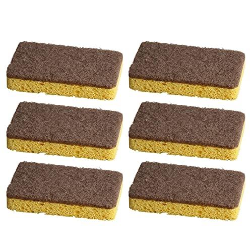 MVPACKEEY Esponja de lavado portátil para el hogar No-rasguño para el cojín de fregado del plato de cocina reutilizable