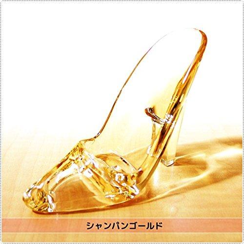 シンデレラのアクリル クリア ハイヒール ガラスの靴 (ピュアクリスタル)