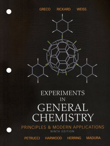 Experiments in General Chemistry (9th Edition)