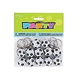 Fußball Schlüsselanhänger - Packung mit 12 (K02582HNB-86925-12UNQ-T) [Spielzeug]
