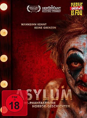 Asylum - Irre-phantastische Horror-Geschichten (Limited Edition Mediabook, + DVD, Cover A) [Blu-ray]