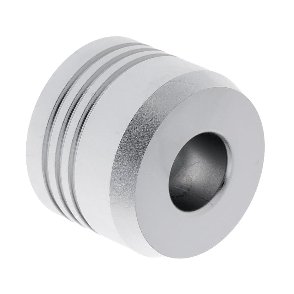 災難液体葉巻Kesoto セーフティカミソリスタンド スタンド メンズ シェービング カミソリホルダー サポート 調節可能 シェーバーベース 2色選べ   - 銀