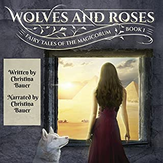 Wolves & Roses audiobook cover art