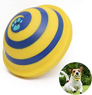 YUYAOSH The Sliding Gliding Dog Toy,Sounding Disc Soft Safe Indoor Pet Play Toy,Puppy Entertainment Toy with a Built in Squeaker, Safe for Indoor Play, Great for Dogs of All Ages!
