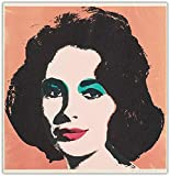 Andy Warhol Poster Elizabeth Taylor-Leinwand-Ölgemälde