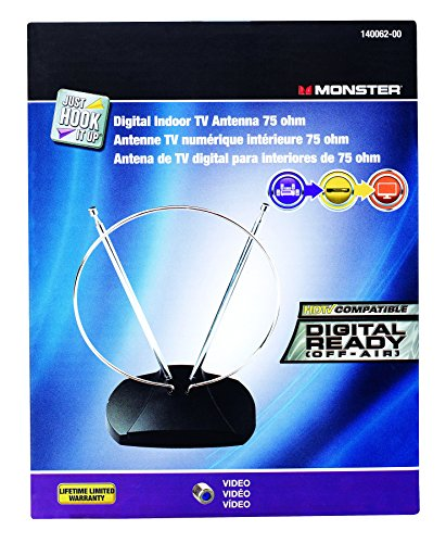 Antenna VHF/UHF/HDTV by Jhiu by Monster MfrPartNo 140062-00