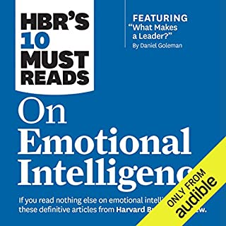 HBR's 10 Must Reads on Emotional Intelligence                   Written by:                                                                                                                                 Harvard Business Review                               Narrated by:                                                                                                                                 Susan Larkin,                                                                                        James Edward Thomas                      Length: 5 hrs and 29 mins     14 ratings     Overall 4.6