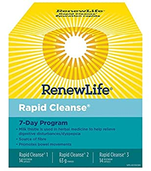 RENEW LIFE Total Body Rapid Cleanse 7 Day 1 EA