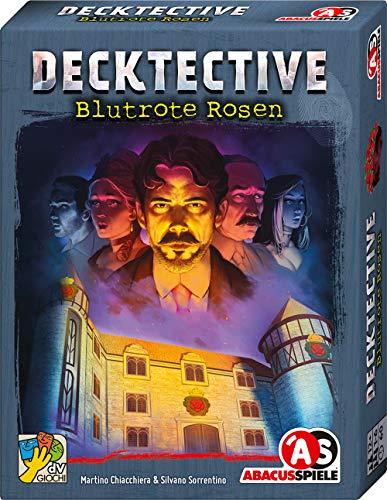 ABACUSSPIELE 38194 Decktective - Blutrote Rosen kooperatives Krimispiel, Kartenspiel