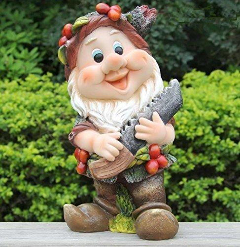 Original GMMH Design 4 Zwerg 9402-4 32 cm Hoch Deko Garten Gartenzwerg Figuren Dekoration verschiedene Design
