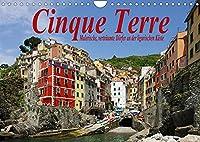 Cinque Terre - Malerische, vertraeumte Doerfer an der ligurischen Kueste (Wandkalender 2022 DIN A4 quer): Cinque Terre, das ist Ligurien von seiner schoensten Seite. (Monatskalender, 14 Seiten )