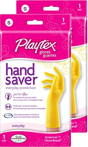 Playtex HandSaver Gloves, Small (Pack - 2)