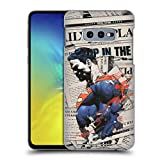 Official Superman DC Comics Newspaper 80th Anniversary Hard Back Case Compatible for Samsung Galaxy S10e
