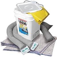 Oil-Dri L90435 Compact Universal 5-Gallon Bucket Spill Kit
