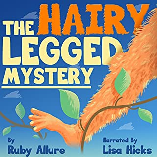 The Hairy Legged Mystery audiobook cover art