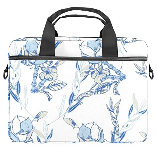 13.4'-14.5' Laptop Case Notebook Cover Business Daily Use or Travel Elegant Flower